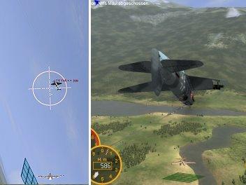 Drei Sekunden trennen diese beiden Screenshots...